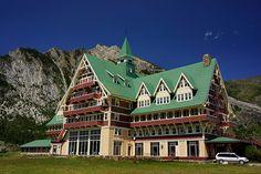 Vacation at the Prince of Wales Hotel, Waterton Canada