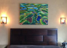 Original Contemporary Green Abstractmixed by NickySpauldingArt, $3000.00