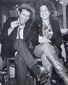 Tom Waits and Bette Midler, 1975