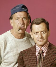 The Odd Couple - Oscar Madison (Jack Klugman) and Felix Unger (Tony Randall)