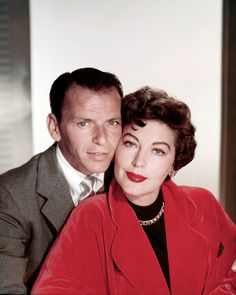 Frank Sinatra and Ava Gardner photographed by Paul Hesse, 1952