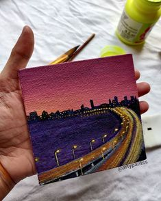 Small Canvas Paintings, Small Canvas Art, Mini Canvas Art, Mini Paintings, Acrylic Painting Canvas, Canvas Painting Tutorials, Art Anime, Art Drawings Sketches Simple, Watercolor Art