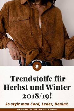 Trends 2018, German Fashion, Winter Mode, Fashion Group, All About Fashion, Men Sweater, Denim, Interior, Fashion Trends