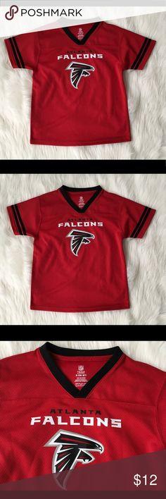 e050d463e Atlanta Falcons Youth Football NFL Jersey SZ S 6 7 Atlanta Falcons Boys  Jersey NFL