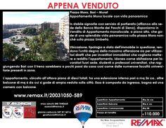 Appena Venduto Bari, Piazza Moro 22 Appartamento Monolocale. Ottimo investimento www.remax.it/20031050-588 info 348 7340665