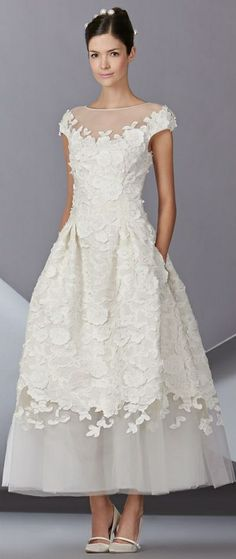 Carolina Herrera Wedding Dress Spring 2014