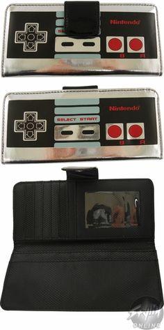 Nintendo Controller Clutch Wallet