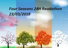 Sleepywolfread: Four Seasons 24 H Readathon - 23/03/2018