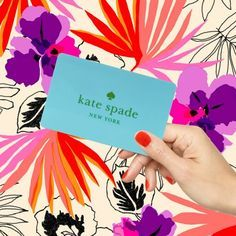 kate spade gift vouchers - Google Search