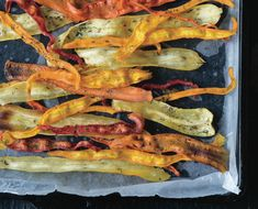 The Crunchy Effect: Make These Double Dill Parsnip And Carrot Chips