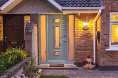 Need Composite Doors? We are Dublin's leading Front Doors experts. We are located in Swords, Dublin. Visit our website to see our Exterior doors. Composite Door, Exterior Doors, Windows And Doors, House Colors, Garage Doors, Front Doors, Dublin, Bungalow, Facade