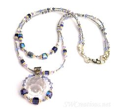 Handmade Alluring Tanzanite Crystal Prism Necklace – SWCreations