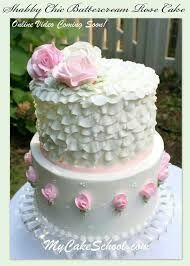 Image result for shabby chic cakes