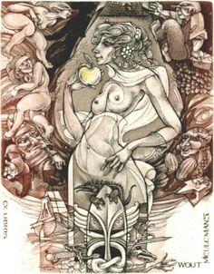 Hedwig Pauwels | www.bookplate.org