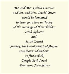Wedding invitation wording both parents giant design wedding wedding invite wording filmwisefo