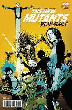 The New Mutants Dead Souls 1 - Marcos Martin (Marvel)