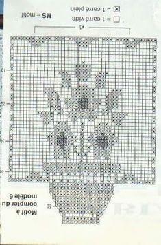 vestiti barbie uncinetto Filet Crochet Charts, Crochet Motifs, Crochet Borders, Thread Crochet, Crochet Doilies, Crochet Flowers, Crochet Stitches, Knit Crochet, Crochet Patterns