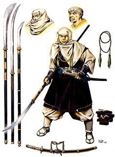 A shoei (warrior monk) of Mount Hiei or Nara, c. 1100