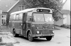 This bus was used to connect three very small villages in the Amsterdam area to the city. It was a lot of fun to sit in it, mostly because of the small roads. Bus Camper, Amsterdam Area, New Bus, Bus House, Bus Terminal, Bus Coach, Bus Ride, Bus Stop, Commercial Vehicle
