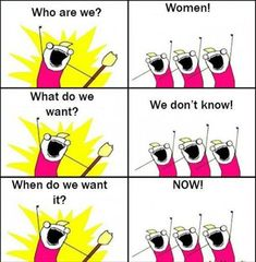 Women Logic by risefire - A Member of the Internet's Largest Humor Community Women Logic, Hyperbole And A Half, Social Work Humor, Therapy Humor, What Women Want, Work Memes, Humor Grafico, Just For Laughs, The Funny