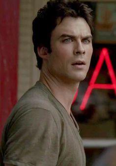 "Ian Somerhalder as Damon Salvatore in ""The Vampire Diaries"""