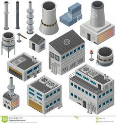 industry isometric - Google zoeken