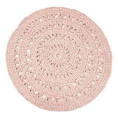 tapis rond crochet maison pinterest tapis rond. Black Bedroom Furniture Sets. Home Design Ideas
