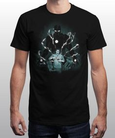 """""""The Power"""" is today's £8/€10/$12 tee for 24 hours only on www.Qwertee.com Pin this for a chance to win a FREE TEE this weekend. Follow us on pinterest.com/qwertee for a second! Thanks:)"""