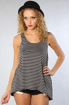 The Striped Knit Racerback by NTICE