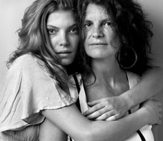 "Photographer Howard Schatz's ""Models and Mothers"""