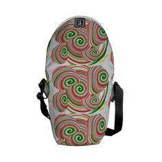 Twister, digital art design messenger bags