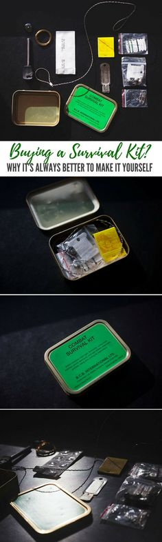 """Buying a Survival Kit? Why It's Always Better to Make It Yourself — There are a lot of pieces of gear you can buy to increase your chances of survival, but one that's most frequently marketed toward survivalists is the """"handy dandy"""" survival kit."""