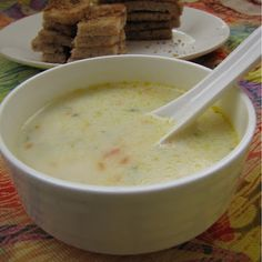 Blissful Cream of Sweet Corn Soup