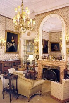 Small Drawing Room at Sandringham House. Said to be 'the most comfortable house in England', Sandringham Estate, Norfolk, has been the private home of British monarchs since 1862. The main ground floor of the house, which is used regularly by the royal family, and whose design remains as it was in Edwardian times, is open for public visits. There are also two self-catering cottages on the estate in which one can stay.