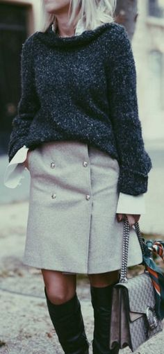 A LINE SKIRT - THE FALL EDITION - Blogger Bazaar #line