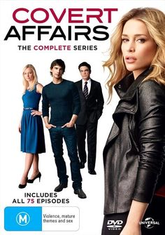 The Covert Affairs DVD box set includes all 5 series of this hit show. Annie Walker, Piper Perabo, Covert Affairs, Season 1, Movies And Tv Shows, Movie Tv, Tv Series, Cinema, Actors