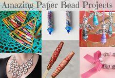Paper Beads: Quick, Easy