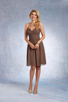 Alfred Angelo 7323S $230.99 Bridesmaid Dress