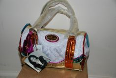 Authentic Baby Phat Colorful Mini Purse ( Handbag)