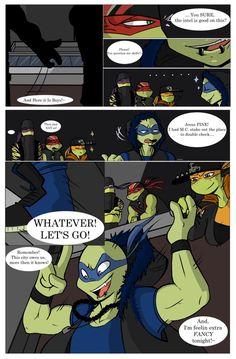 TMNT SP AU: The New Guard Dog Pg. 1 by Cartoonfanatic92 on DeviantArt