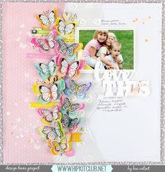 My shiny studio: Colorful butterflies - Hip Kit Club