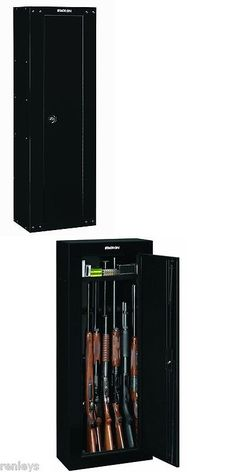 Cabinets and Safes 177877: Stack-On 8-Gun Cabinet Security Safe Rifles Short Gun Key Coded Lock Storage New -> BUY IT NOW ONLY: $96.57 on eBay!