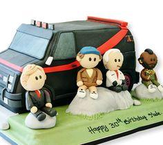 The A-team 3D Cake