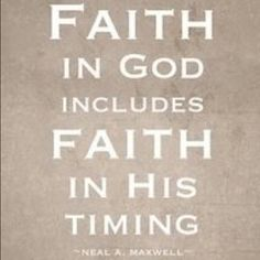 Don't I know it! His timing is always perfect.