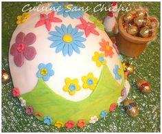 Gâteau oeuf de Pâques