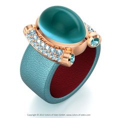 Emmy DE * turquoise ring