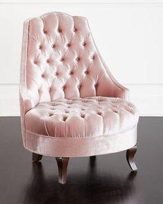 H8A3U Haute House Emily Tufted Chair
