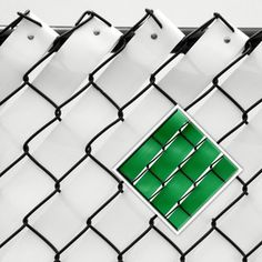 Pexco 10-in x 2-in Green Chain-Link Fence Privacy Weave