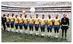 A seleção de 70 é o time a qual todos os times se comparam. Garra Brasil.    The 1970 Brazilian national team is the standard by which all other teams are rated. Strength to Brazil.