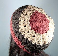 Ravelry Free Patterns Crochet Hats | Ravelry: Slouchy Beret, Tam Hat pattern by ... | Crochet Hats and Hea ...